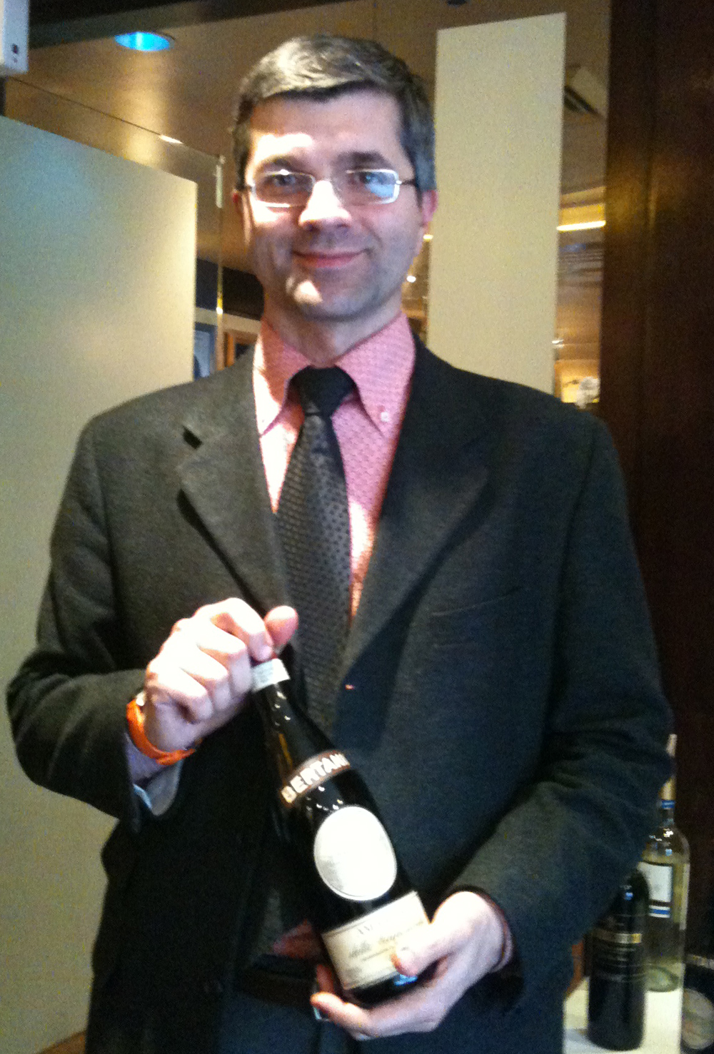 Winemaker Cristian Ridolfi presents Bertani Amarone in D.C.