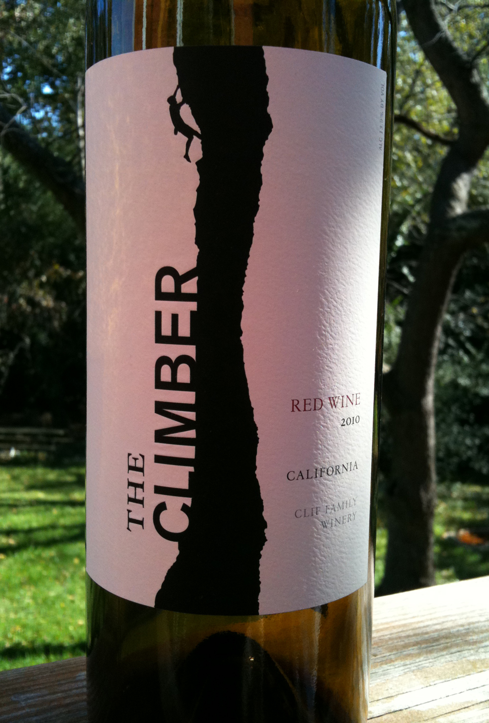 A Climber to Appreciate: Napa Valley Red Wine