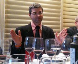 Winemaker Cristian Ridolfi