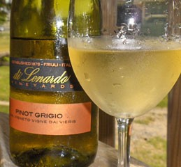 Di Lenardo Pinot Grigio, 2007: Quality on a Recession Budget